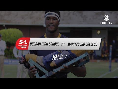DHS 1st XV vs Maritzburg College, 19 May 2018