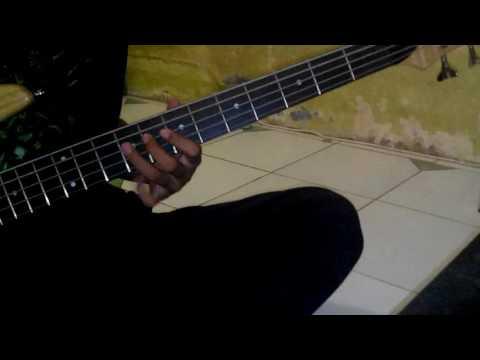 Tipe X-Aku cukup senang (Bass cover)