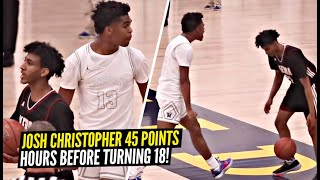 Josh Christopher Drops 45 POINTS ON HIS BIRTHDAY!? Championship Game BATTLE vs Ian Martinez!!