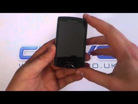 Sony Ericsson Xperia Mini Unboxing