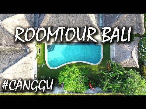 Geniale Airbnb Luxus Villa auf Bali in Canggu - Villa Casabek Roomtour - Indonesien