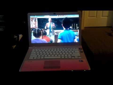 Sony CW Laptop Freezing  Netflix