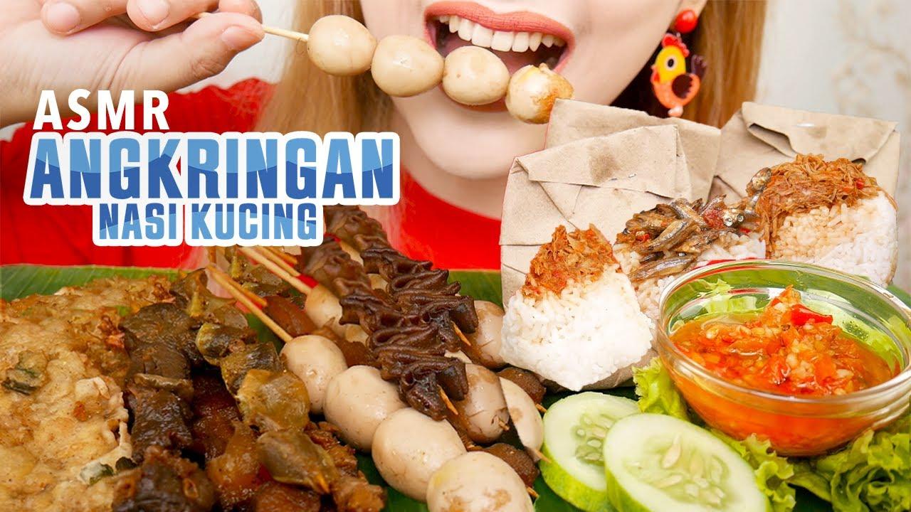 ASMR ANGKRINGAN NASI KUCING | ASMR Indonesia