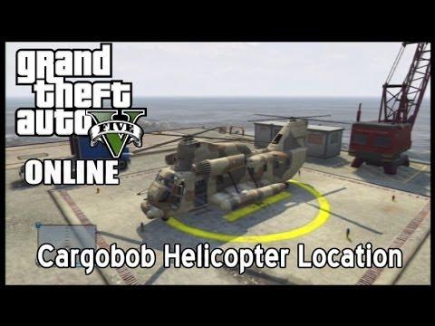 Cargobob Helicopter Location GTA V Online - YouTube