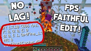 Minecraft PvP Texture Pack   Faithful FPS Edit Resource Pack FPS BOOST NO LAG 1.10 1.9 1.8 1.7 FPS