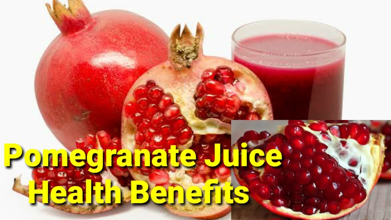 pomegranate (juice) health benefits |health is wealth|