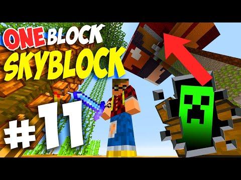 MINECRAFT - One Block Skyblock !! HO CREATO IL MOB SPAWNER.. FALLIMENTI EPICI MA SUPER WIN !! Ep. 11