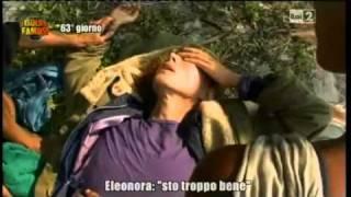 Brigliadori sviene sull'Isola dei Famosi. Ma è un'esperienza mistica