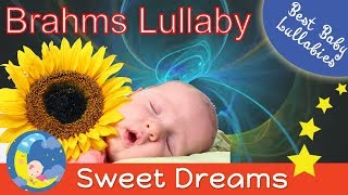 BRAHMS LULLABY  Baby Sleep Music Songs Lyrics To Put A Baby Toddlers Children Kids  To Sleep Bedtime
