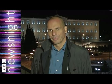 """Greek Finance Minister: """"not a question of take it or leave it"""" - Newsnight"""