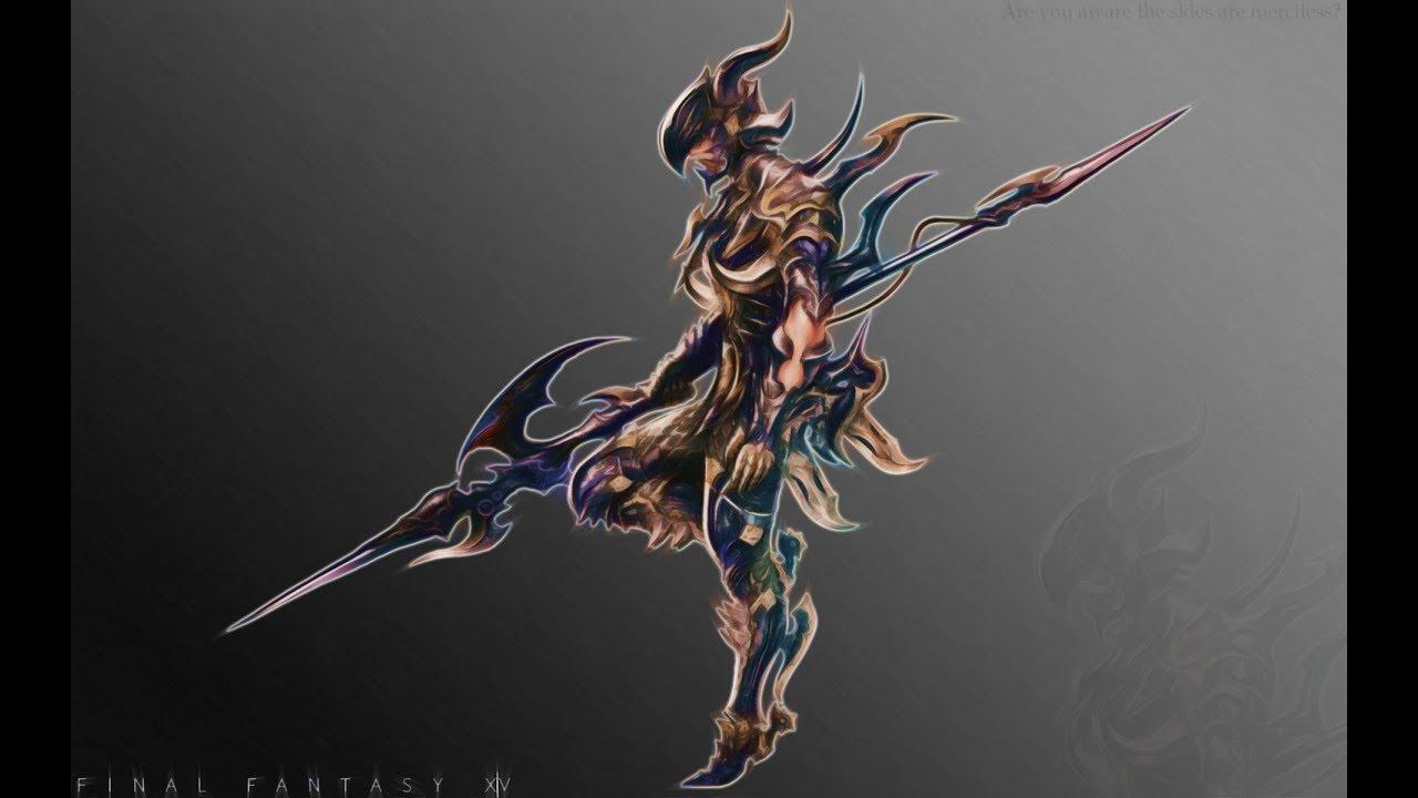 FFXIV Dragoon in a Nutshell - YouTube