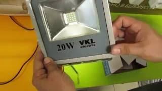 Светодиодный прожектор 20 вт Vkl electric Включай(Светодиодный прожектор 20 вт ХАРАКТЕРИСТИКИ: Мощность : 20 Вт Цветовая температура : 6500 К Световой поток :..., 2016-05-26T06:17:23.000Z)