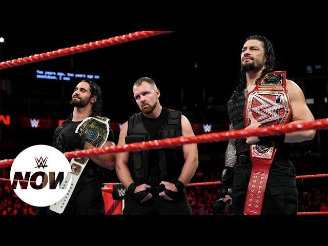 WWE Now Arabic: ثلاثة نزالات أسطورية في سوبر شوداون