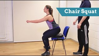 Get chair Squat Confident: Technique, Common Mistakes And Beginner Tips