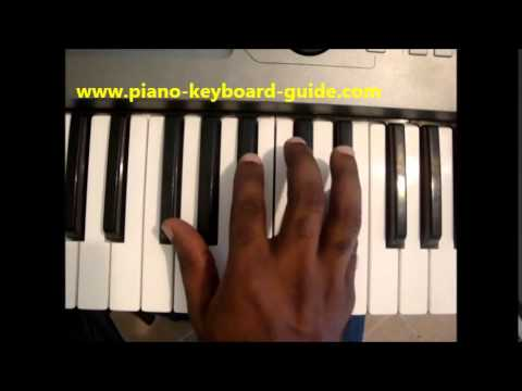 How To Play E Flat Minor Chord Eb Min Ebm On Piano Keyboard