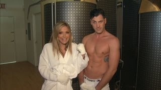 Maksim Says Cryotherapy Freezing Keeps Him Fit
