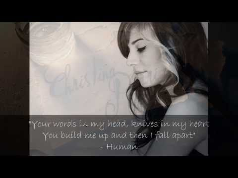 Christina Perri - Collection Of Best Lyrics / Couplets / Quotes Of Her Songs