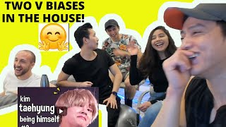 BTS (방탄소년단) — BTS V Kim Taehyung  being himself #2 | BTS FUNNY MOMENTS | REACTION VIDEO