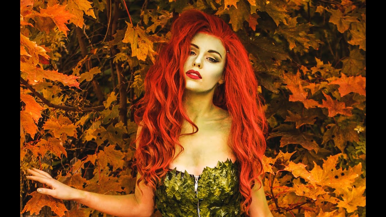 Download Poison Ivy Makeup & Costume tutorial