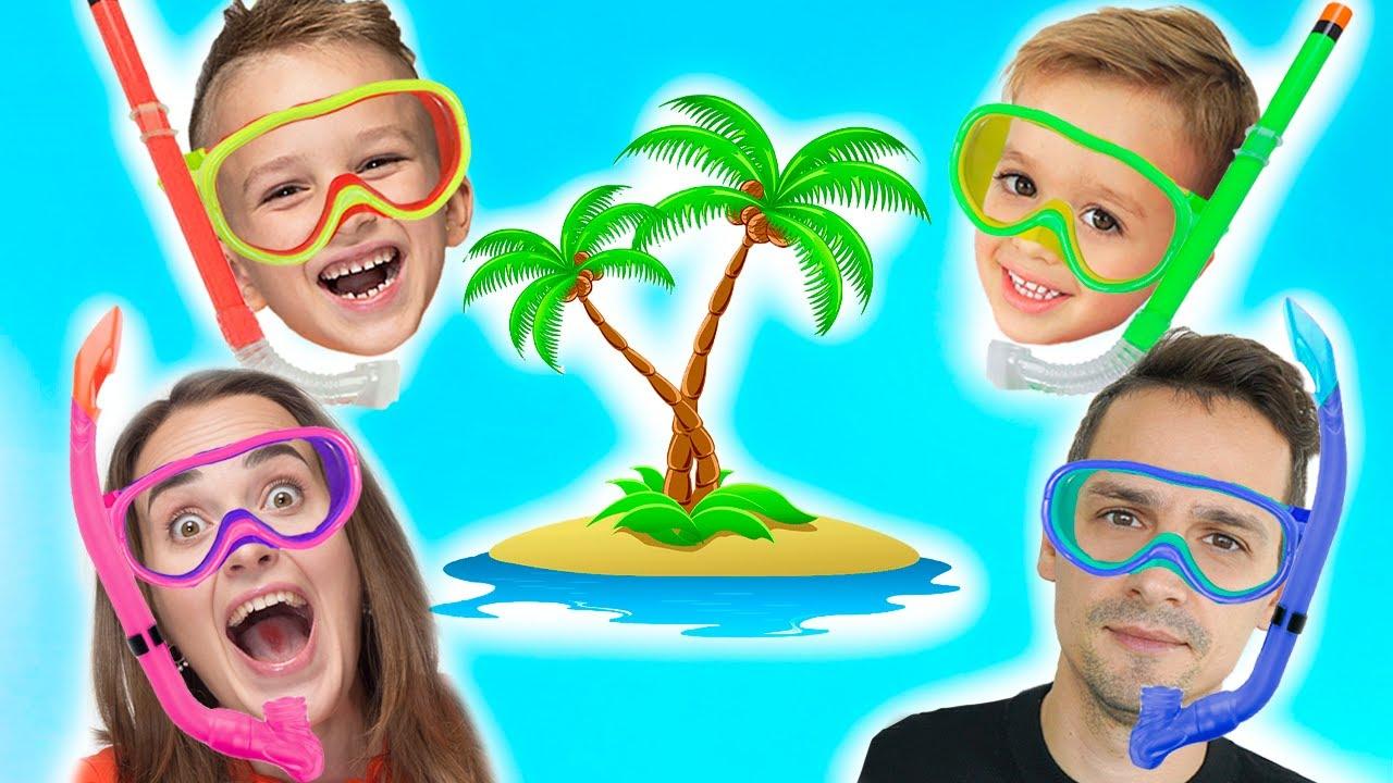 Vlad and Niki Family Trip to Maldives