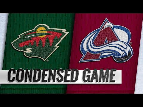 01/23/19 Condensed Game: Wild @ Avalanche