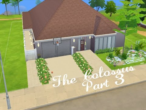 The Sims 4 Speed Build - The Colossus Part 3