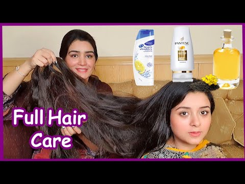 My Daughter's Full Hair Care Routine, Shampoo, Conditioner, Hair Oil & Beauty Drink Etc