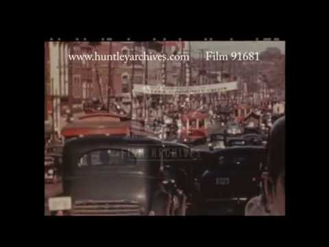 Busy Streets in Ottawa, 1940's - Film 91681