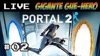 Jogando Portal 2 - Cap#02