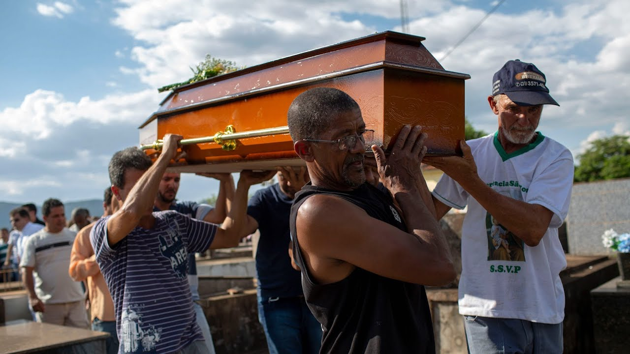 Victims of dam burst disaster in Brazil are laid to rest