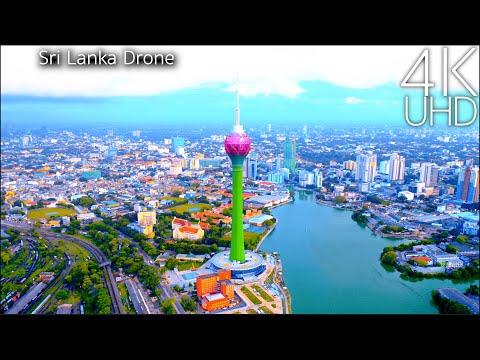 Sri Lanka in 4K UHD Drone
