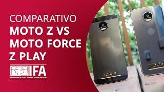 Moto Z vs Moto Z Force vs Moto Z Play [Comparativo IFA 2016]
