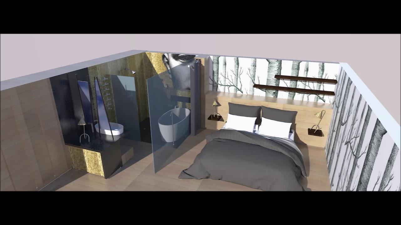 Chambre Ouverte Salle De Bain salle de bain ouverte sur chambre