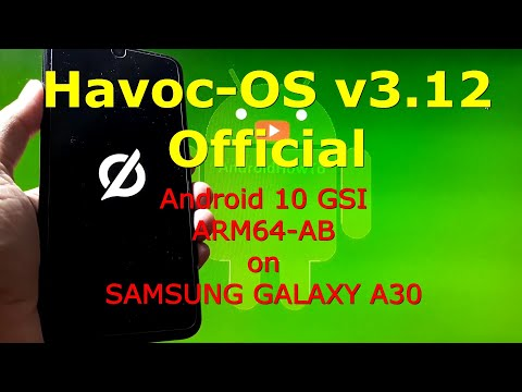 Havoc-OS v3.12 Official Android 10 for Samsung Galaxy A30
