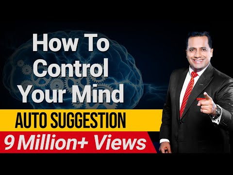 How To Control Your Mind | Auto Suggestion | ISKCON | Dr Vivek Bindra