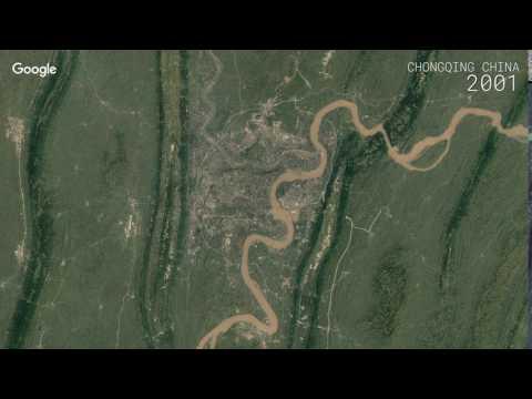 Google Timelapse: Chongqing, China
