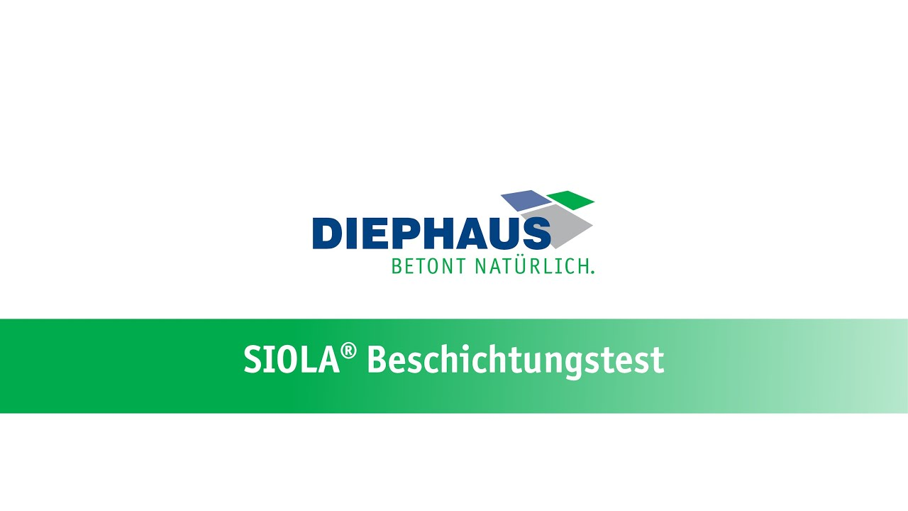 DIEPHAUS Mauersteine   Beschichtungstest - YouTube