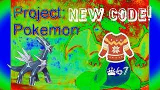 NEW CODE FOR DIALGA!!! ROBLOX PROJECT POKEMON!!! #67