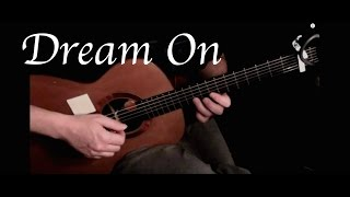Kelly Valleau - Dream On (Aerosmith) - Fingerstyle Guitar