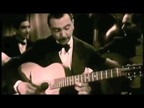 Django Reinhardt CLIP performing live 1945