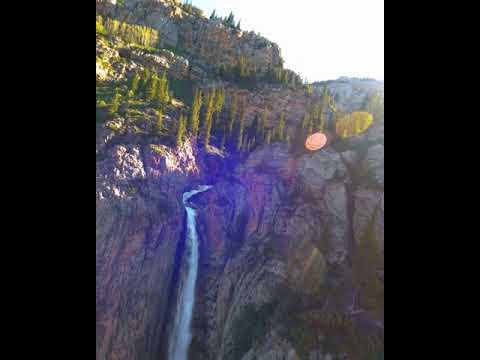 Фото Водопад Бурхан-Булак, Джунгарский Алатау, FPV полет