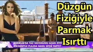 Ziynet Sali tatil sezonunu açtı Düzgün Fiziğiyle Parmak Isırttı | Magazin D | Magazin