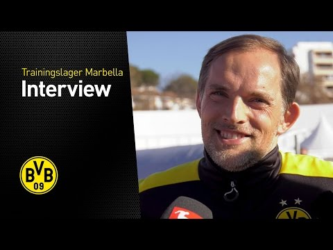 Thomas Tuchel im Interview | Trainingslager in Marbella 2017