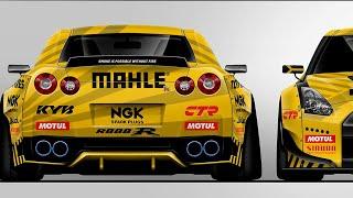 MAHLE GTR для дрифта - новая машина Гочи #2