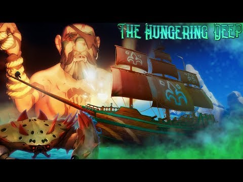 Sea Of Thieves - HUNGERING DEEP TRAILER! - New Update & Content, NEW Potential Summoning Crab Boss!?
