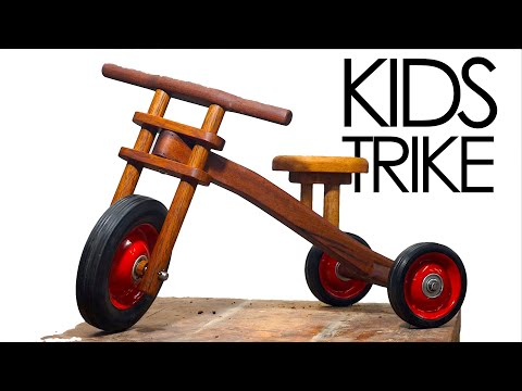 How To Make A Kids Trike | Woodworking