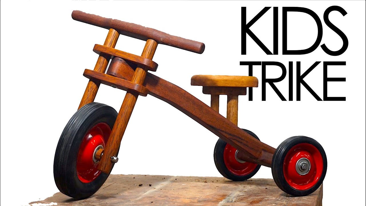 kids trike made from scrapwood | woodworking