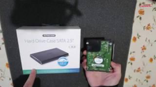 Come installare un Hard Disk Sata da 2.5 e 3.5 in un Box esterno