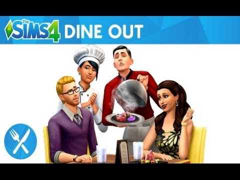 The Sims 4 | NEW DINE OUT Game Pack! |