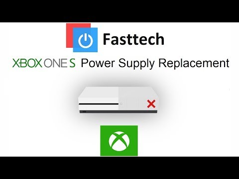 Xbox One S Not Turning On Fix (Power Supply Replacement